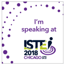 ISTE 2018 Presenter